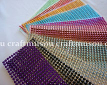 504pcs, Self Adhesive Rhinestones Stickers, Bling Sticker (6mm)- Available in 11 color's