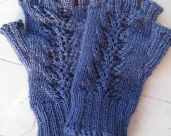 Branching Fern Fingerless Gloves
