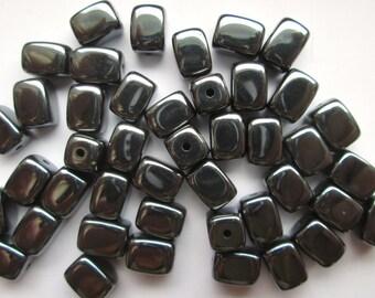 Hematite Rectangle Beads