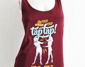 Less Yap Yap, More Tap Tap! workout tank S-M