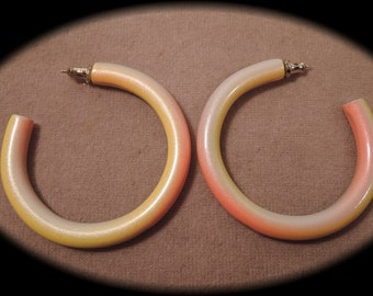 Fun Shimmering Colourful Hoops 1970-80s