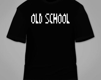Old School T-Shirt. Funny