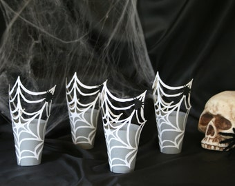 Halloween Party Favor Box - Spider Web