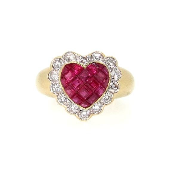 4742765682de8 Ruby Diamond Rings: Ruby