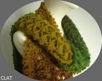 special offer, 20% off virgin wool and mohair shawl, crochetted,