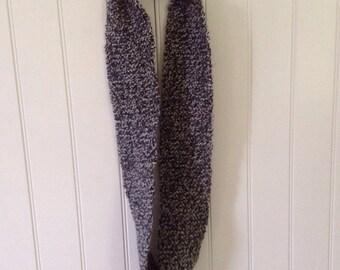 Tweed Acrylic Infinity Scarf