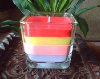 Square Jar Candle Choose Your Scent