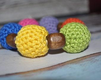 Teething Jewelry - Rainbow - Baby Accessories