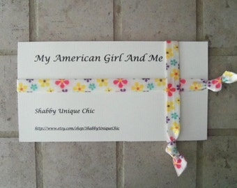 American Girl Doll Accessories, Girls Headbands, Elastic Headband, American Girl, matching American Girl doll headbands, headbands, Easter