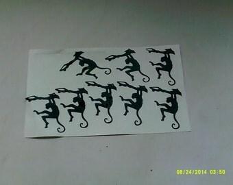 30 x Monkey stickers      boys girls children Jungle animals