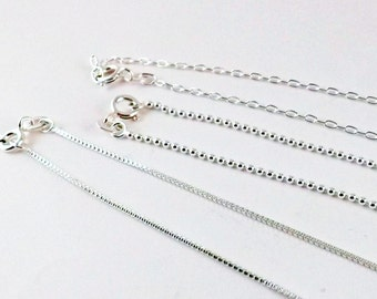 Upgrade to a Sterling Silver Chain