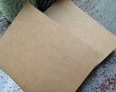 Plain Kraft Handbound Mini Book