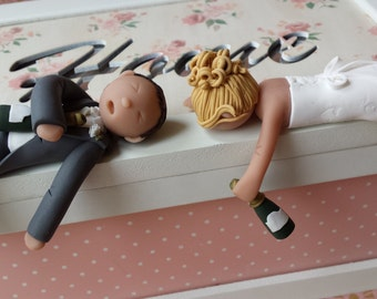drunk groom wedding cake topper wedding cake topper etsy 13764