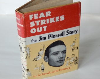 Fear Strikes Out -- the Jim Piersall Story by Jim Piersall and Al - Collectible Vintage Baseball Book