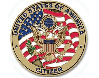 Citizens of the US Lapel Pin