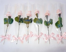 Baby shower favors, Baby sock flowers, Unique baby shower favor, It's a Girl favor, Baby Socks roses