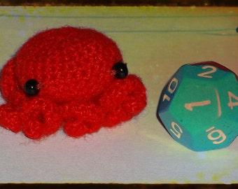 Little Red Octopus Doll-Crochet