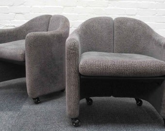 A Set of Four Italian Tecno Chairs by Gerli