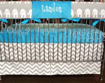Bumperless Crib Set