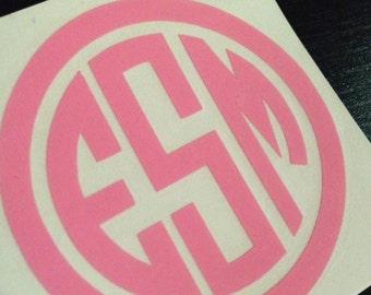 2 inch Monogram vinyl