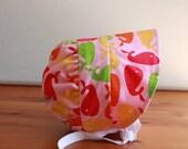 Size 6-12 months Reversible sun bonnet