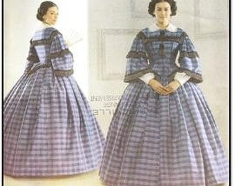 Simplicity 3727 Misses' Civil War Costume Pattern, 8-14