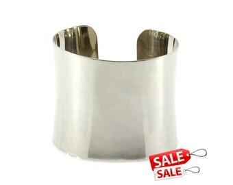 Wide Silver Cuff Bracelet Wide Silver Bracelet Cuff Wide Brass Cuff Bracelet Brass Bracelet Cuff Wide Cuff Bracelet Wide Bracelet Cuff 104