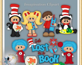 Children's Storybook, Imagination Clipart