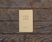 Café Notebook - French or/and English available