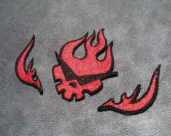 Tengen Toppa Gurren Lagann Gurren-dan Logo Embroidered Patch