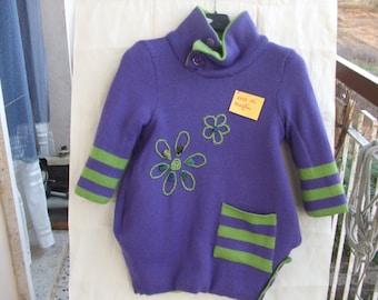 mesh flower girl coat