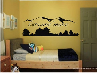 Explore More Wall Decal