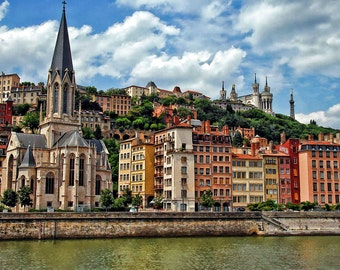Lyon, France on the Rhone River, Cathedral