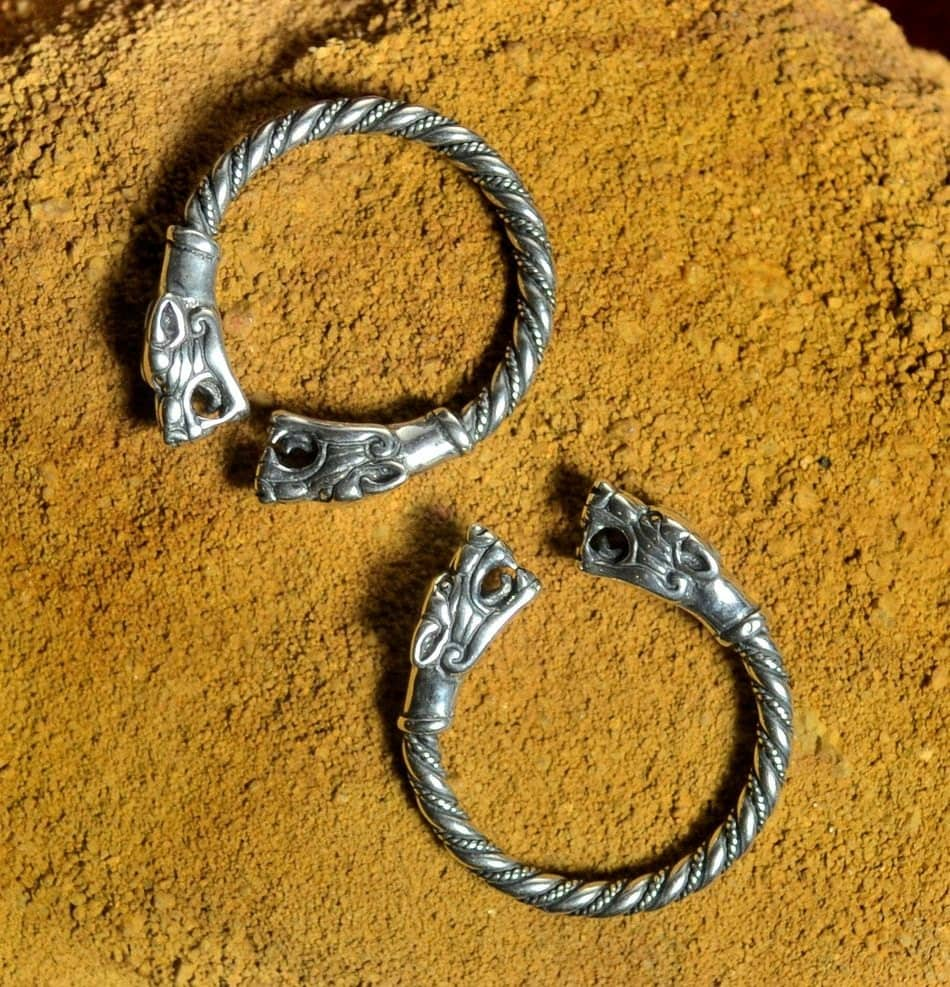 pagan ring pagan wedding rings Silver Viking Wolf Head Ring Jewel Celtic Pagan Jewelry Jewellery Sterling Pagan Wolves Fenrir Fenri The Witcher Norse Rings Celtic Tribal