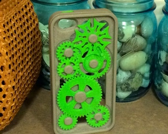 3d Printed iPhone 5 5s Case With Moving Gears