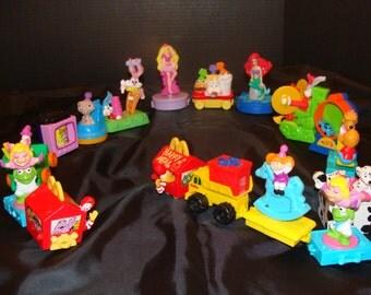 McDonalds 1994 Happy Meal  Happy Birthday set complete