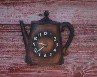 Popular Items For Teapot Clock On Etsy