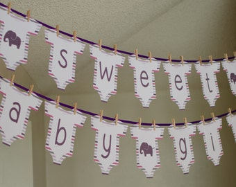 Baby Bodysuit Banner {Boy or Girl} {Digital Item}