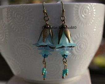 """Earrings """"blue Dreams"""""""