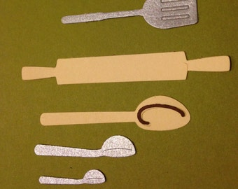 Quickutz Baking Utensils Die Cuts
