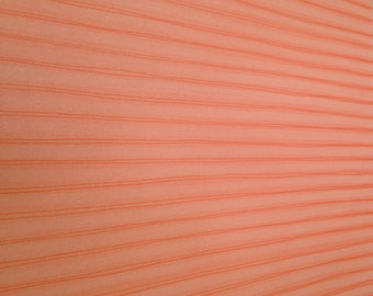12x12 Orangesicle Pin Striped Paper