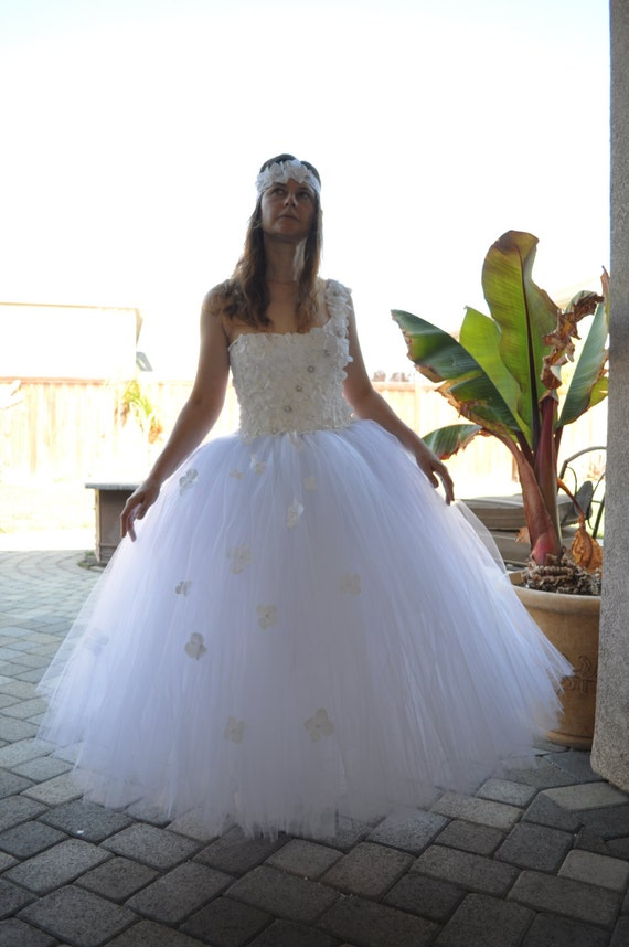 Special Occasion Dress Flower Girl Dress Adult Tutu Wedding