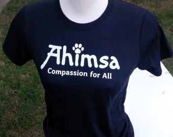Ahimsa - Compassion for All - T-Shirt for Women