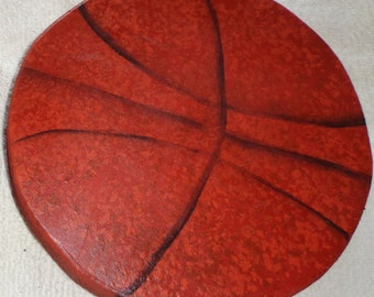 Wooden Basketball Curtain Holder Tieback