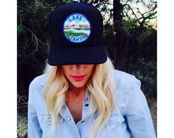 Lake Tahoe Trucker Hat