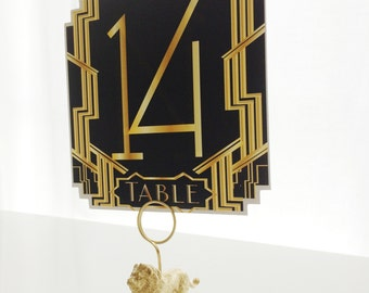 10 Gatsby Table Numbers