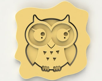 Girl Owl Cookie Cutter