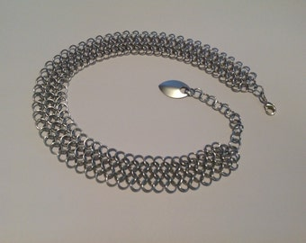 Chainmaille Choker (large)