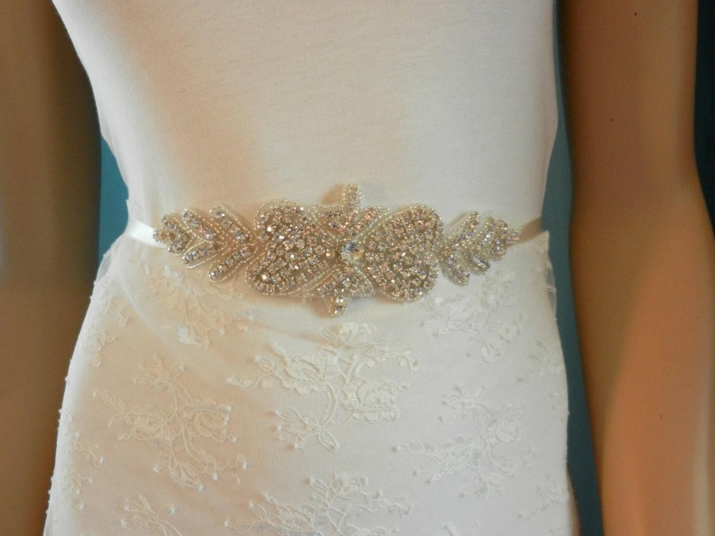 bridal sash wedding dress sashes belts sashes by blossomsashes