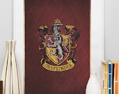 Gryffindor - Harry Potter - Art - Print - Poster